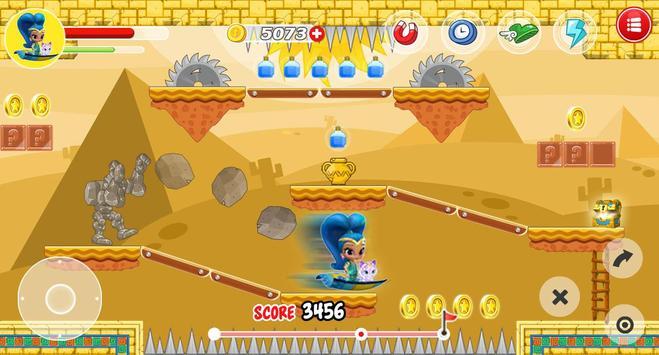 🕌Shimmer Genie Princess Adventure apk screenshot