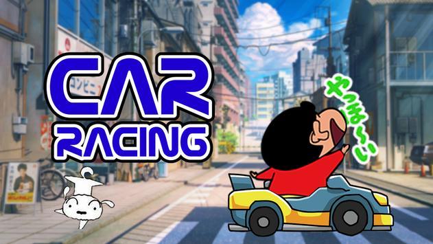 Shin Car Racing Adventure 2017 apk screenshot