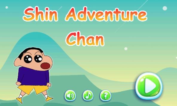 Shin Adventure Chan poster