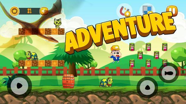 Shin Hero Jungle Fun Adventure apk screenshot