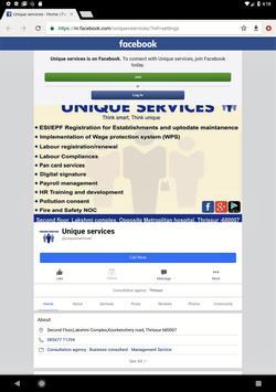 UNIQUE SERVICES screenshot 13