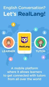 RealLang - Telephone English poster