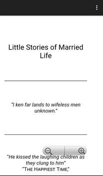 Little story of married  life apk screenshot