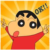 Shin jungle chan run icon