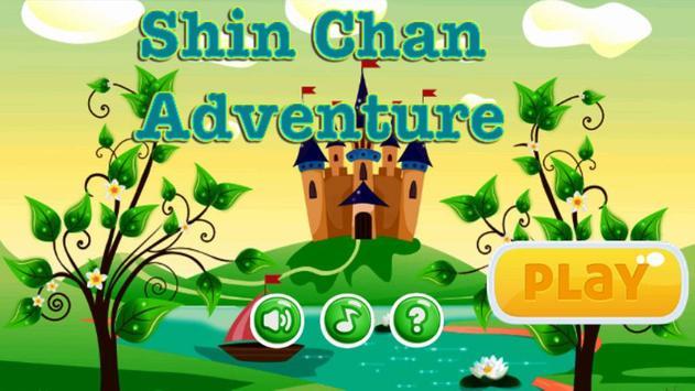 Shin jungle chan run poster