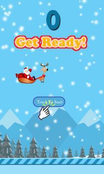 Floppy Santa poster