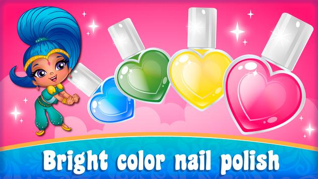 Cute manicure shine apk screenshot