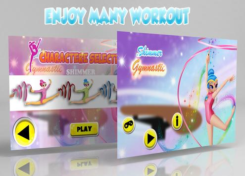 Shimmer Fitness Workout poster