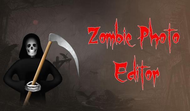 Zombie Photo Editor poster