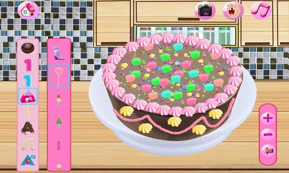 Cream Cake Maker Kids:Juice Smoothie Cookie Pizza poster