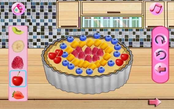 Cream Cake Maker Kids:Juice Smoothie Cookie Pizza screenshot 11