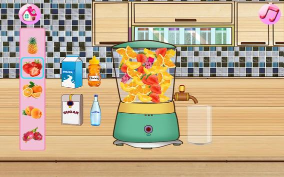 Cream Cake Maker Kids:Juice Smoothie Cookie Pizza screenshot 15