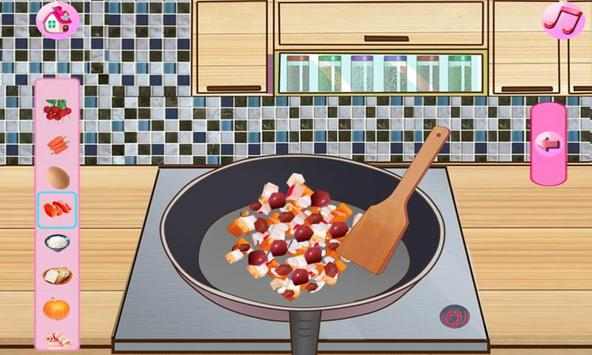 Cream Cake Maker Kids:Juice Smoothie Cookie Pizza screenshot 1