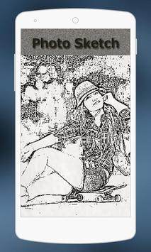 Photo Sketch Art poster