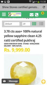 Shine Stones Jaipur Gemstones apk screenshot
