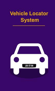 Vehicle Details Locator - Free poster