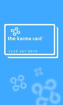 Karmacard poster