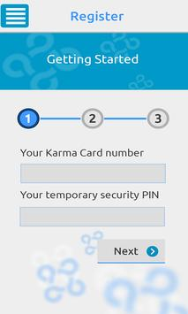 Karmacard screenshot 2