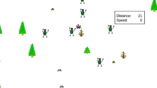 Zombie SkiFree apk screenshot