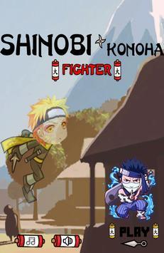 Shinobi Konoha ninja fighter 2 poster