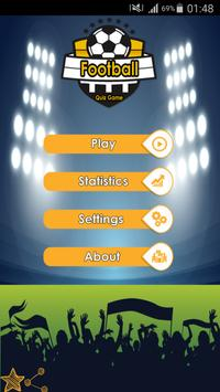 Football Quiz Game poster