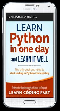 Learn Python in One Day poster