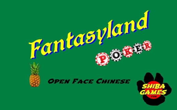Fantasyland Poker apk screenshot