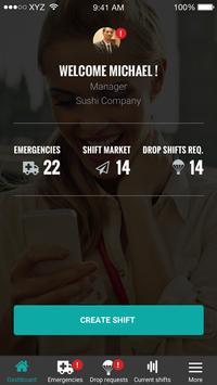 Shiftmeapp poster