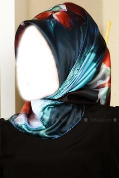 Hijab Fashion Photo Montage poster