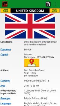 Country encyclopedia & quiz apk screenshot