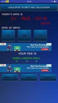 Best Age Calculator screenshot 1