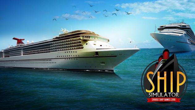 Ship Simulator Cruise Ship Games 2018 screenshot 11