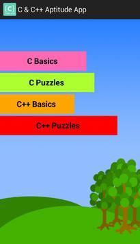 C and C++ Aptitude App screenshot 1