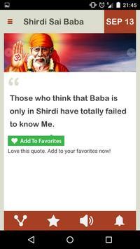 Shirdi Sai Baba Daily apk screenshot