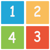 Puzzel number Classic icon