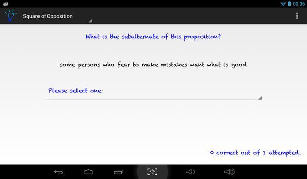 Term Logic apk screenshot