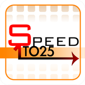 Speed 1to25 icon