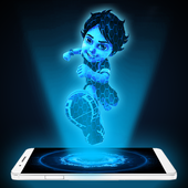 Shiva 3D Hologram Joke icon