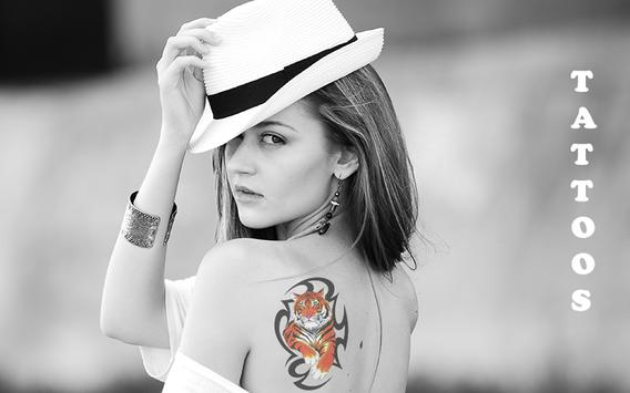 Tattoo Photo Maker 2018 : Latest Tattoos ,Stickers apk screenshot