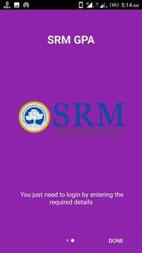SRM GPA screenshot 1