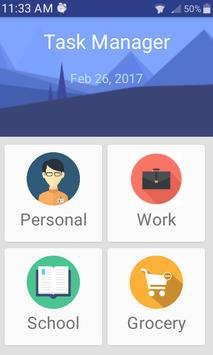 Task Manager-Ad free & simple poster