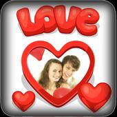 Valentine Day Love Photo Frame icon