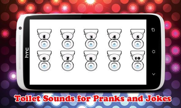 Flush Toilet Pranks Jokes SFX apk screenshot