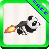 Panda Jet vs Aliens Runner icon