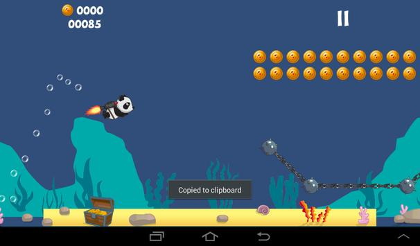 Panda Jet vs Aliens Runner screenshot 8