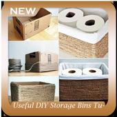 Useful DIY Storage Bins Tutorial icon