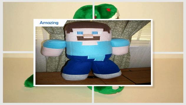 Adorable Minecraft Pillow Plushies apk screenshot