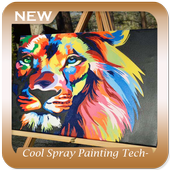 Cool Spray Painting Techniques icon