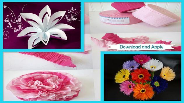 Cool paper flower craft apk download free art design app for cool paper flower craft poster cool paper flower craft apk screenshot mightylinksfo