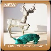 Cute DIY Glitter Animals icon